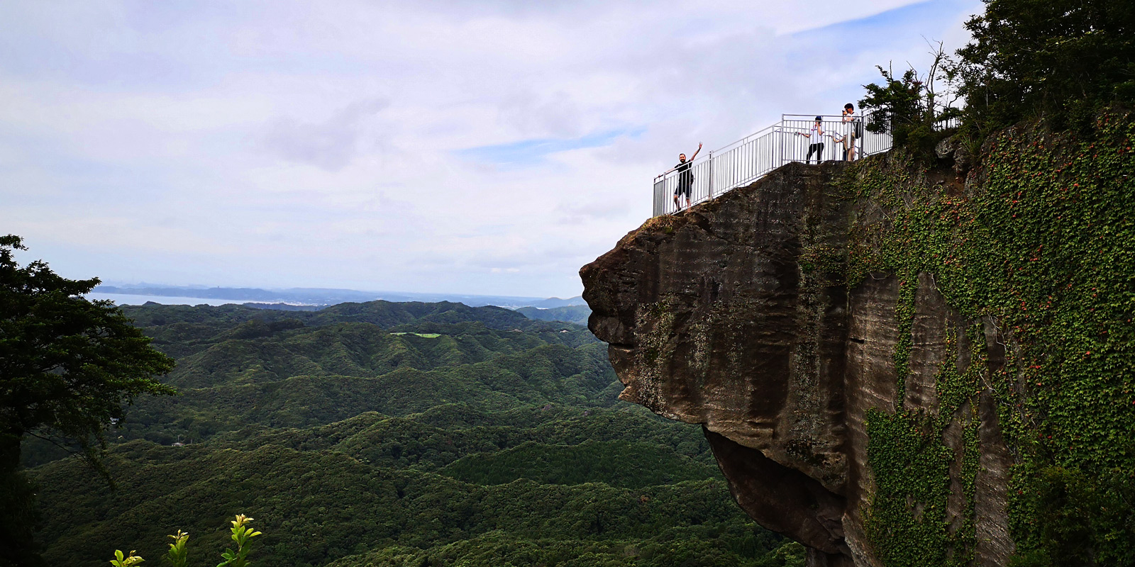 Vue de Nokogiriyama