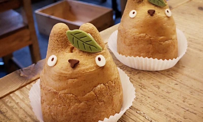 Photo des choux à la crème Totoro