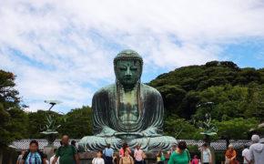 Le Grand Bouddha Daibutsu du Kotoku-in à Kamakura.
